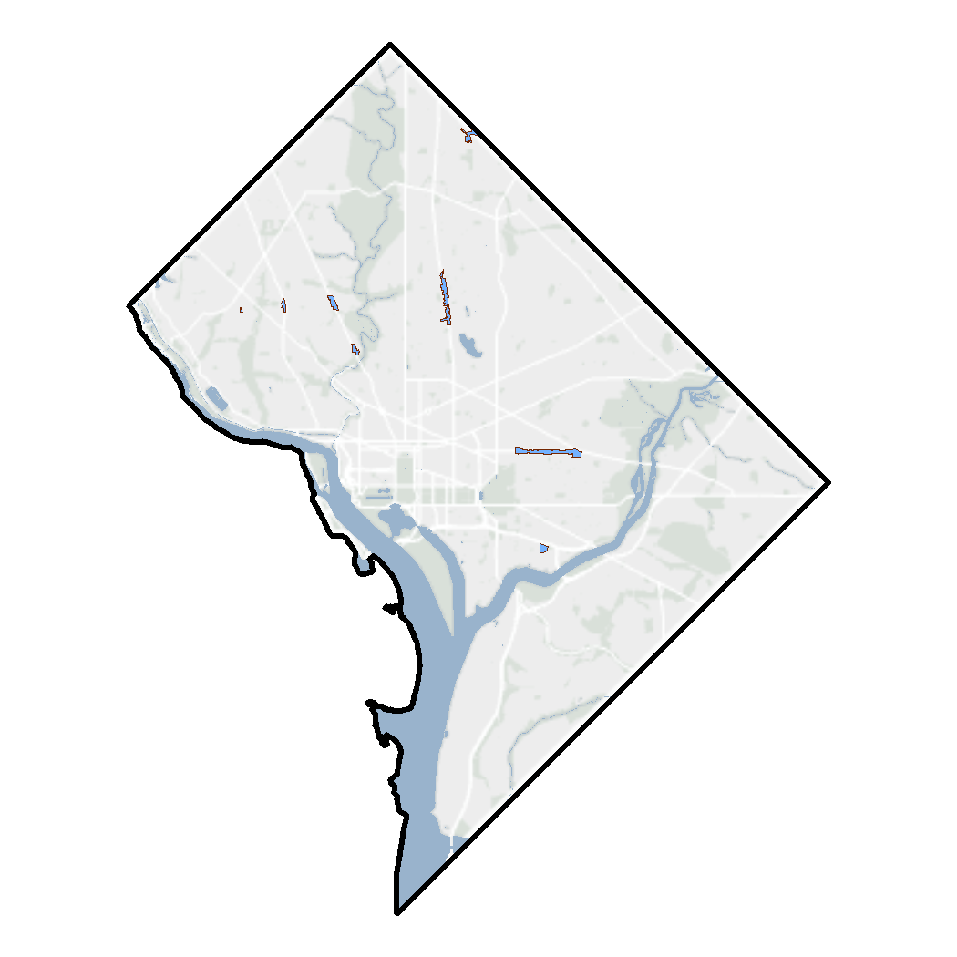 Example of Zoning Data in DC