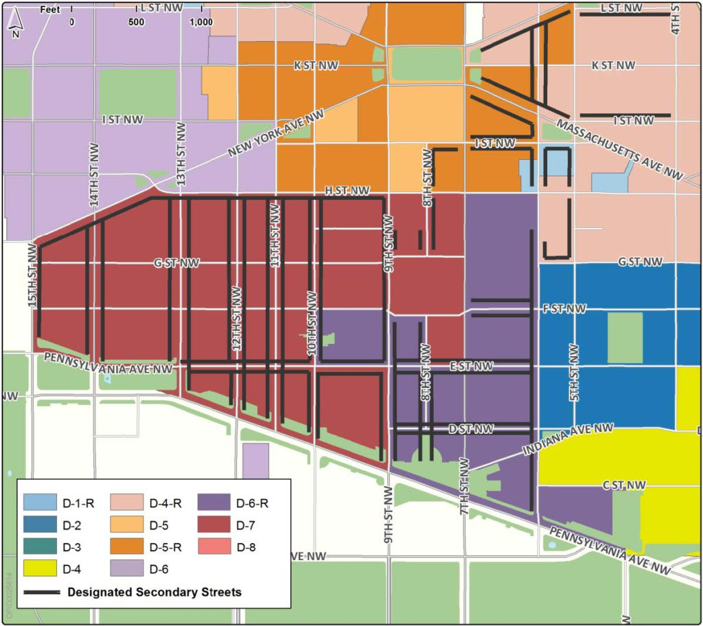 Downtown sub areas dc zoning handbook secondary 1betcityfo Images